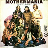 Frank Zappa Mothermania: The Best Of The Mothers album cover