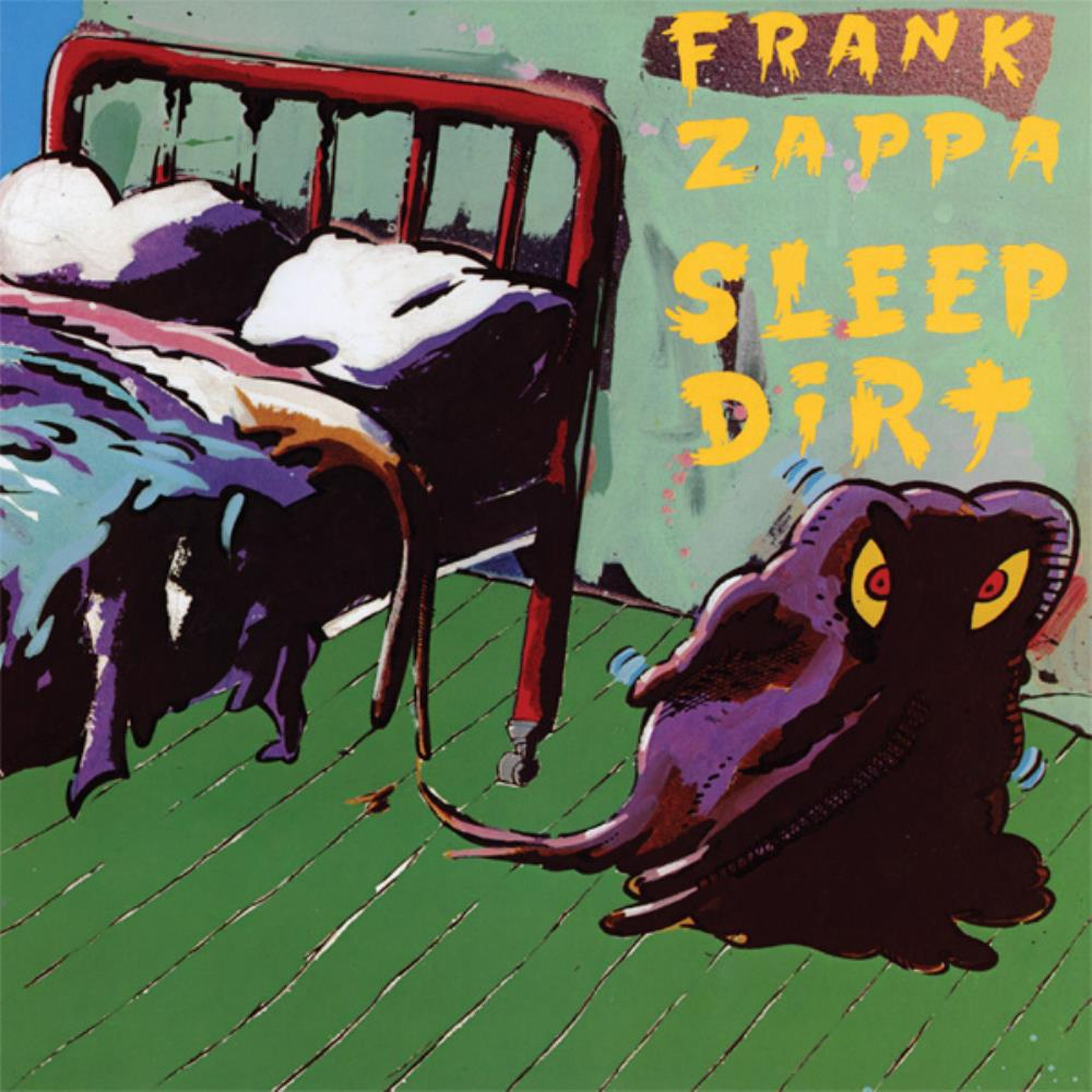 Frank Zappa - Sleep Dirt CD (album) cover