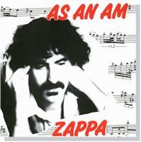 Frank Zappa As An Am album cover