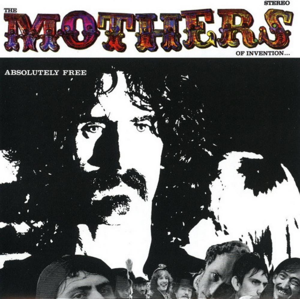 The Mothers Of Invention: Absolutely Free by ZAPPA, FRANK album cover