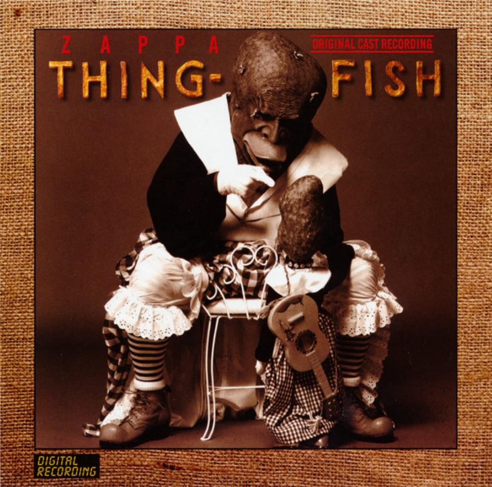 Thing-Fish by ZAPPA, FRANK album cover