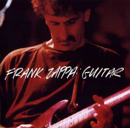 Frank Zappa - Guitar CD (album) cover