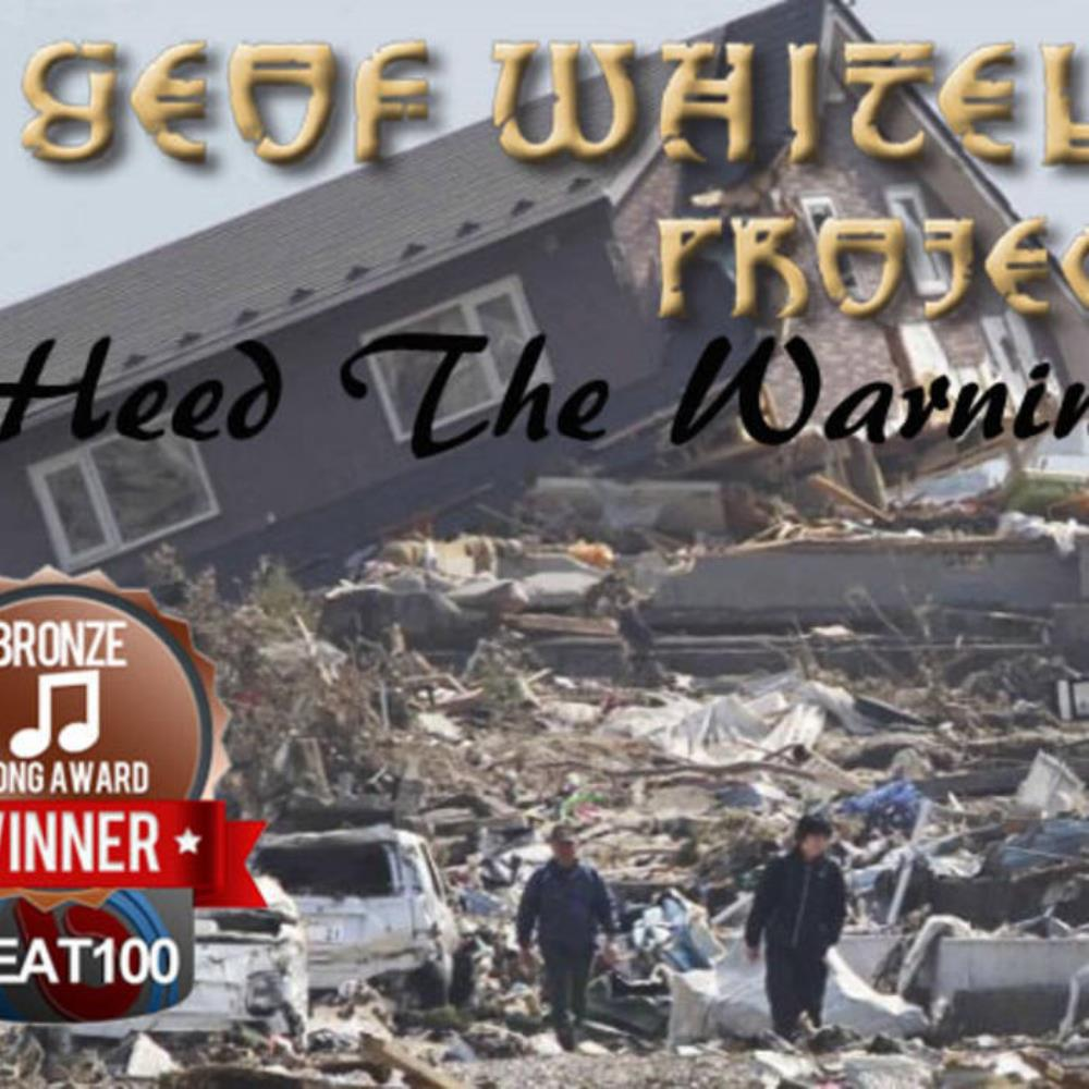 Geof Whitely Project Heed the Warning album cover