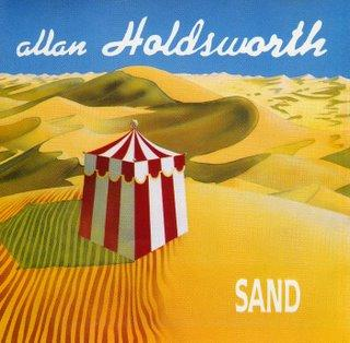 Allan Holdsworth - Sand CD (album) cover