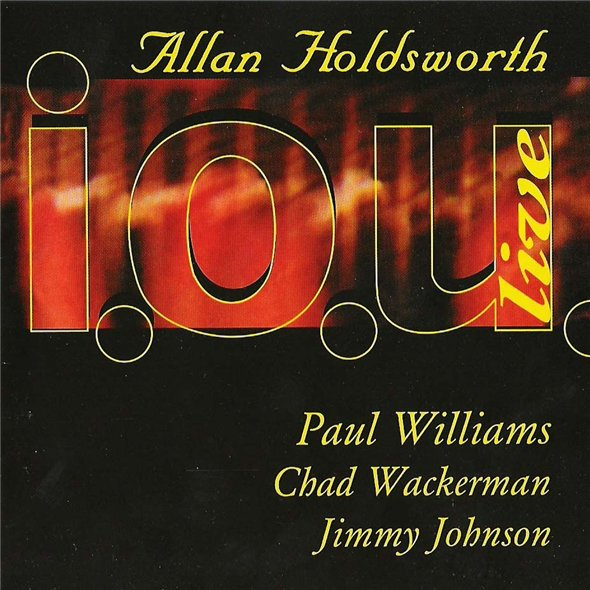 Allan Holdsworth I.O.U. Live (1985)  album cover