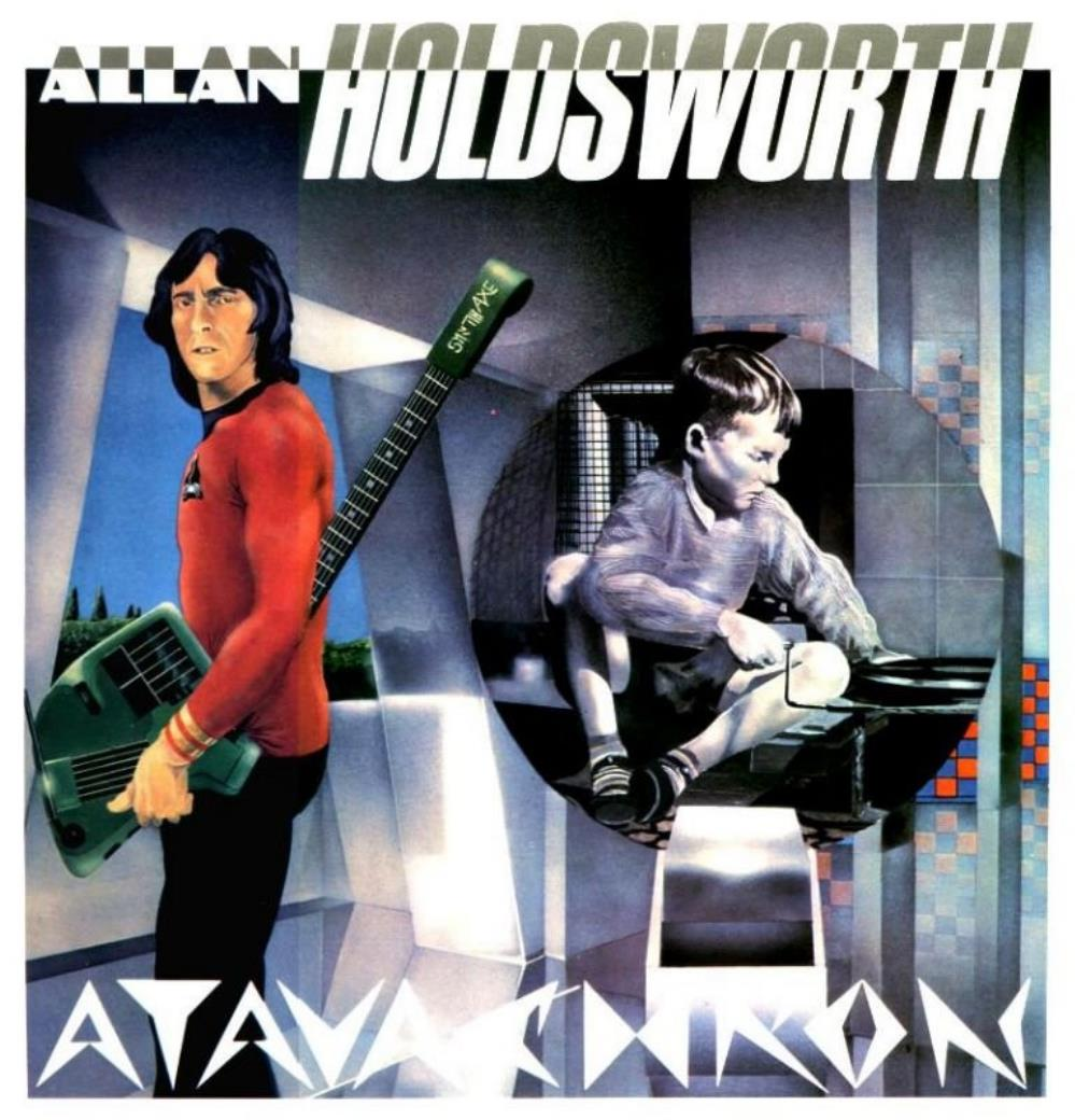 Allan Holdsworth - Atavachron CD (album) cover