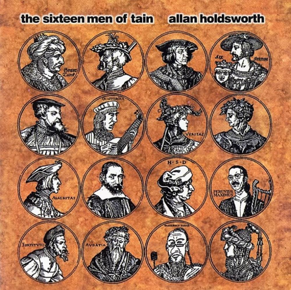 The Sixteen Men Of Tain by HOLDSWORTH, ALLAN album cover