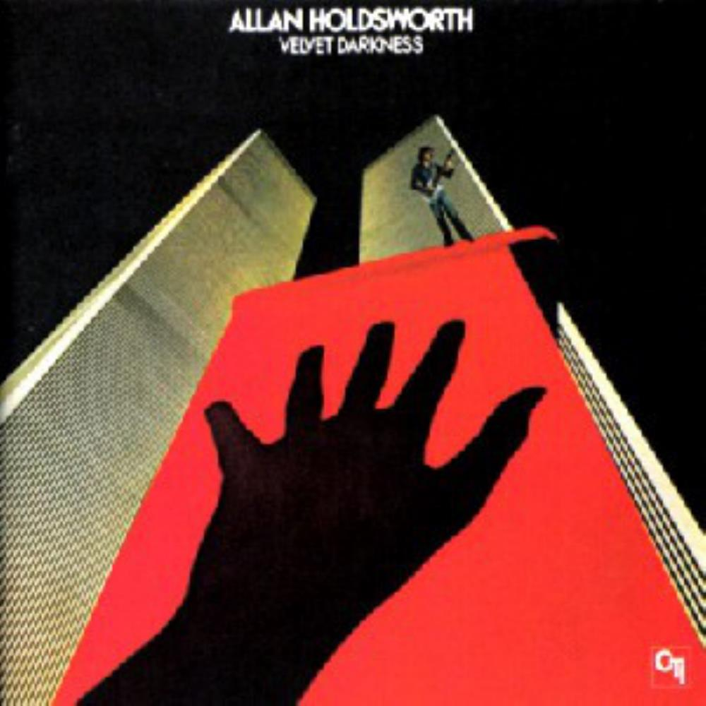 Allan Holdsworth Velvet Darkness album cover
