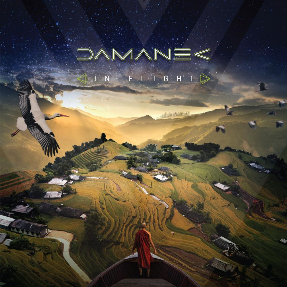 Damanek - In Flight CD (album) cover