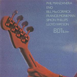 801 - 801 Live CD (album) cover