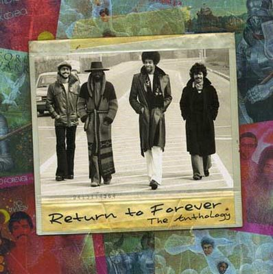 Return To Forever The Anthology album cover