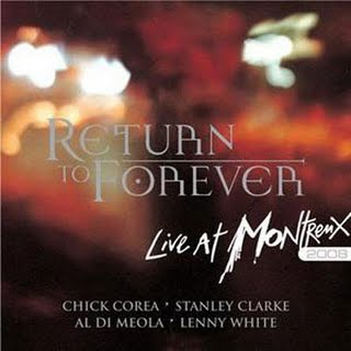 Return To Forever Live At Montreux 2008 album cover