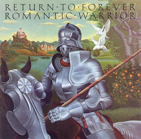 Return To Forever - Romantic Warrior CD (album) cover
