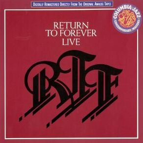 Return To Forever - Live: Return To Forever CD (album) cover