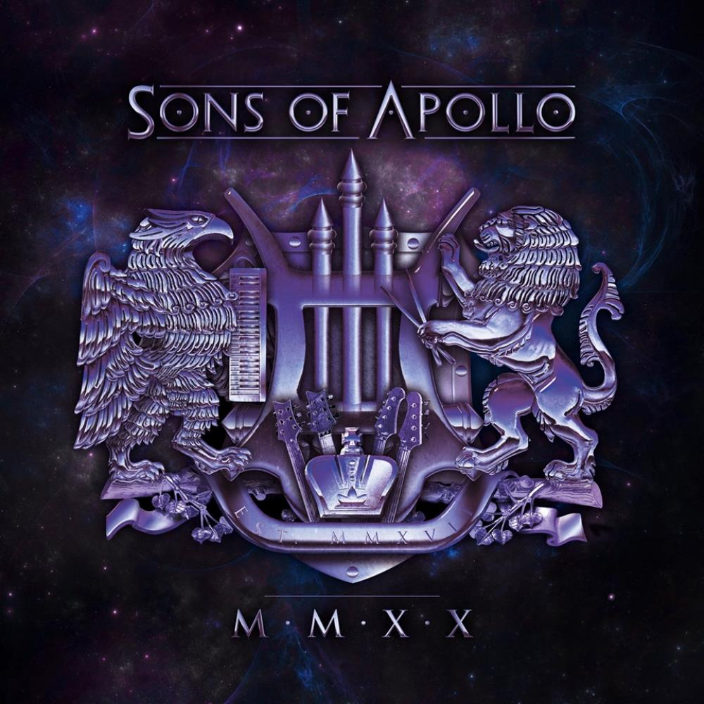 MMXX by SONS OF APOLLO album cover