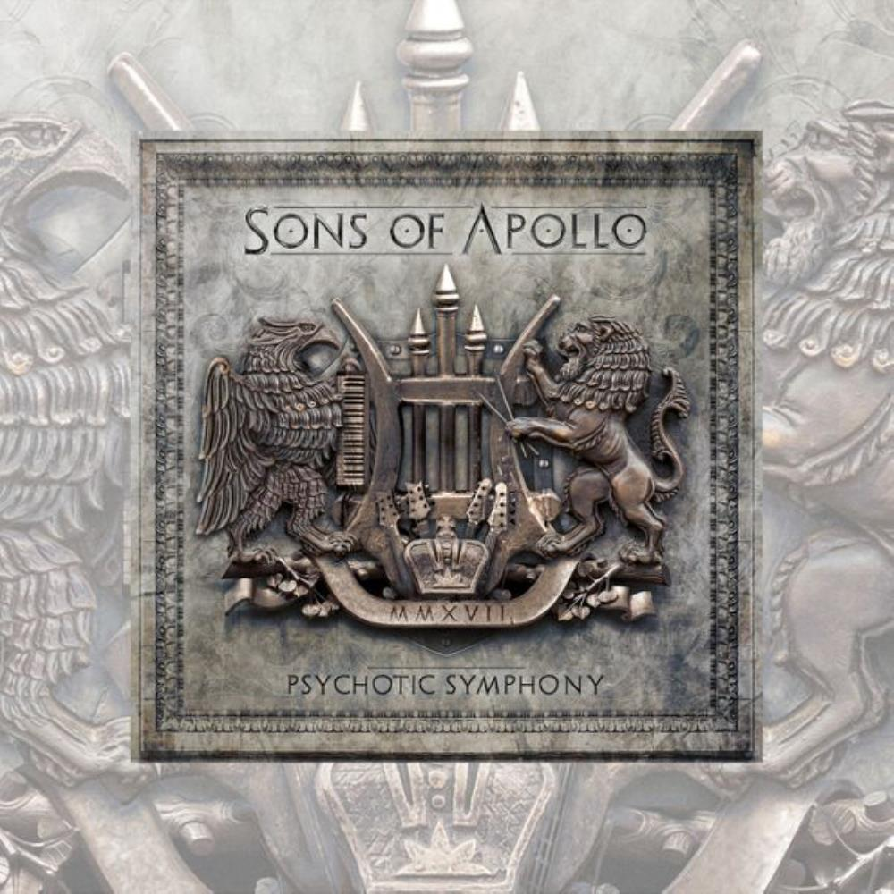 Psychotic Symphony by SONS OF APOLLO album cover