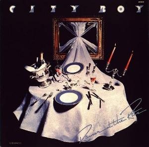Dinner At The Ritz by CITY BOY album cover