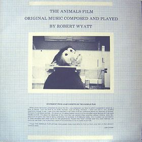 Robert Wyatt The Animals Film album cover