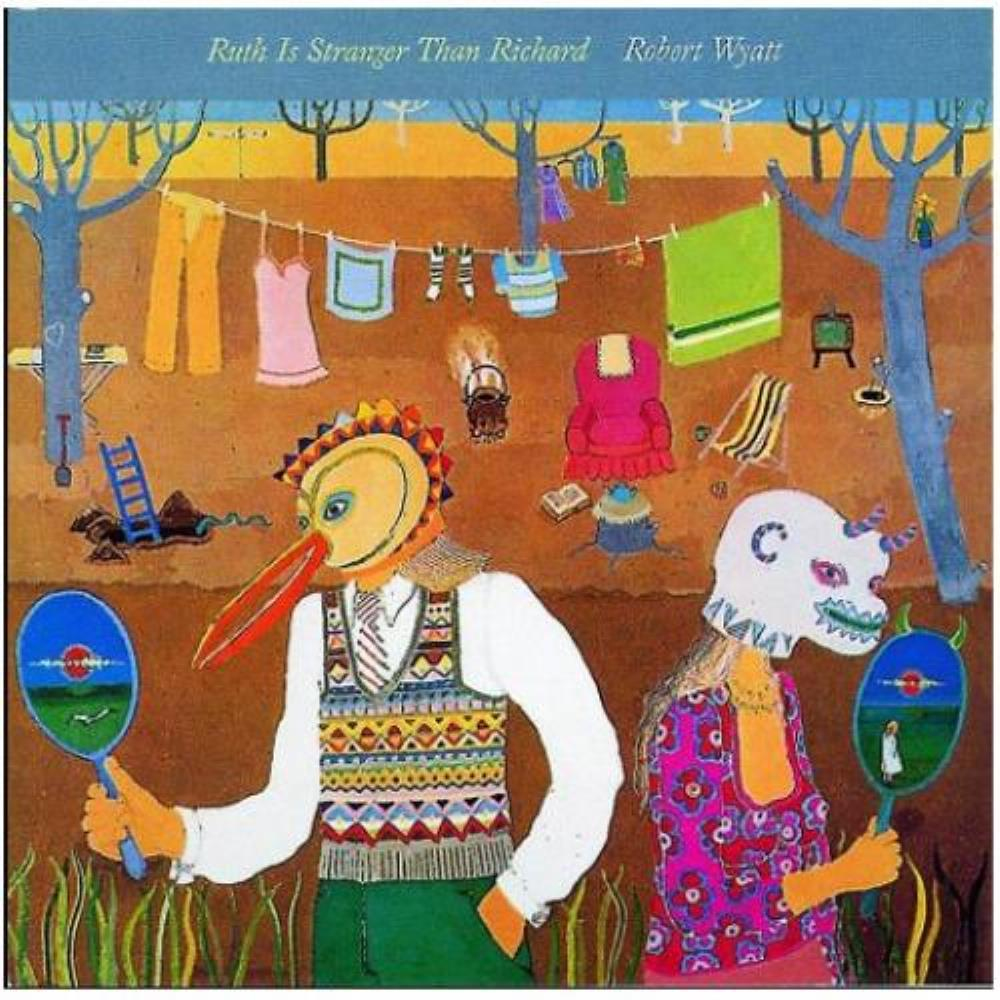 Robert Wyatt - Ruth Is Stranger Than Richard CD (album) cover