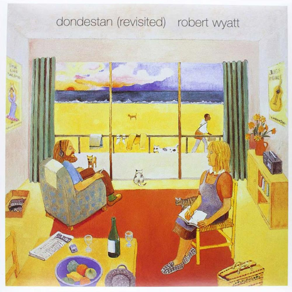 Robert Wyatt - Dondestan CD (album) cover