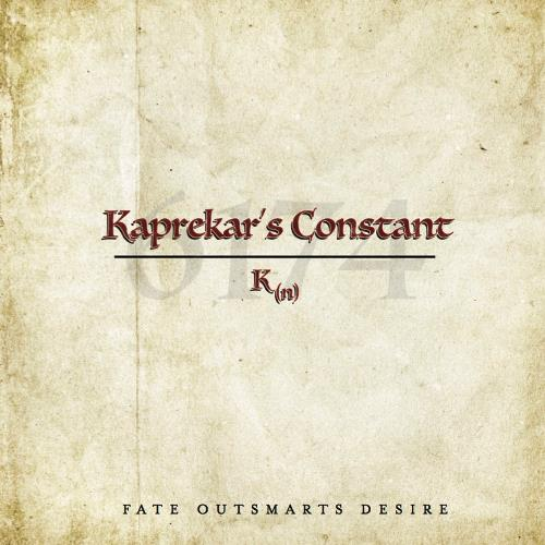 Kaprekar's Constant - Fate Outsmarts Desire CD (album) cover