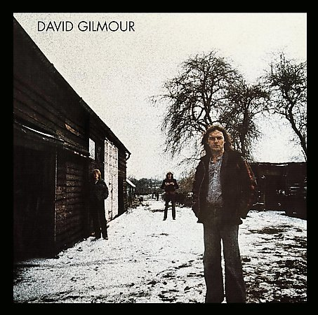 David Gilmour - David Gilmour CD (album) cover