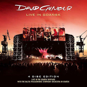 David Gilmour - Live in Gdańsk CD (album) cover
