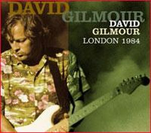 London 1984 by GILMOUR, DAVID album cover