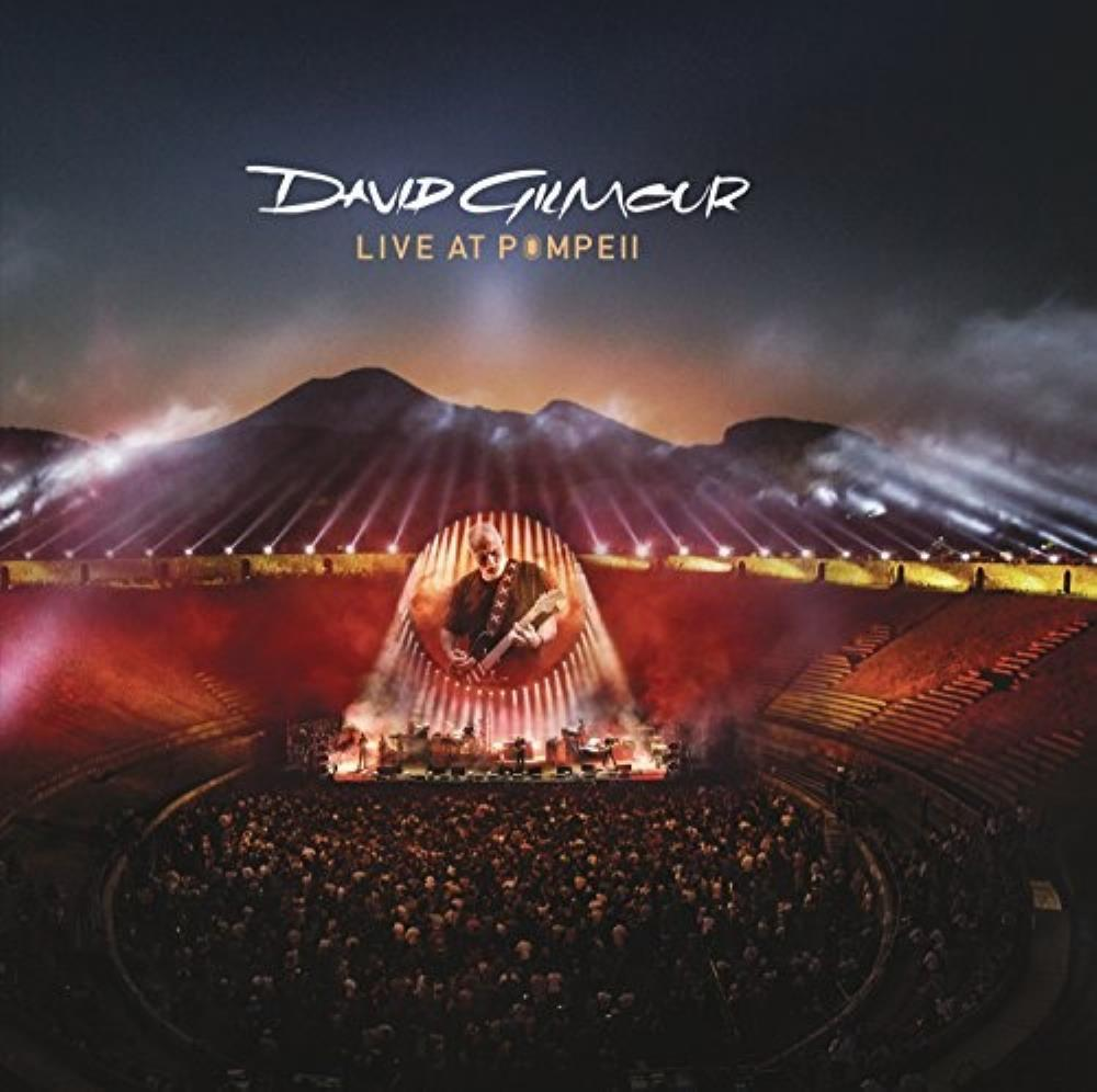 David Gilmour Live at Pompeii album cover