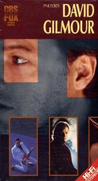 David Gilmour Pink Floyd's David Gilmour (VHS) album cover