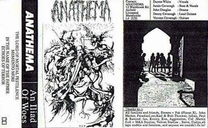 Anathema An Iliad of Woes  album cover