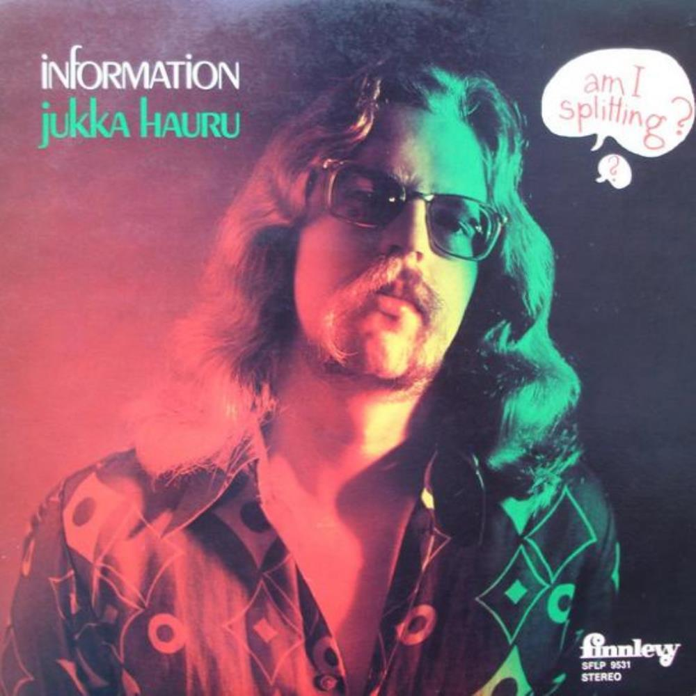 Information by HAURU, JUKKA album cover