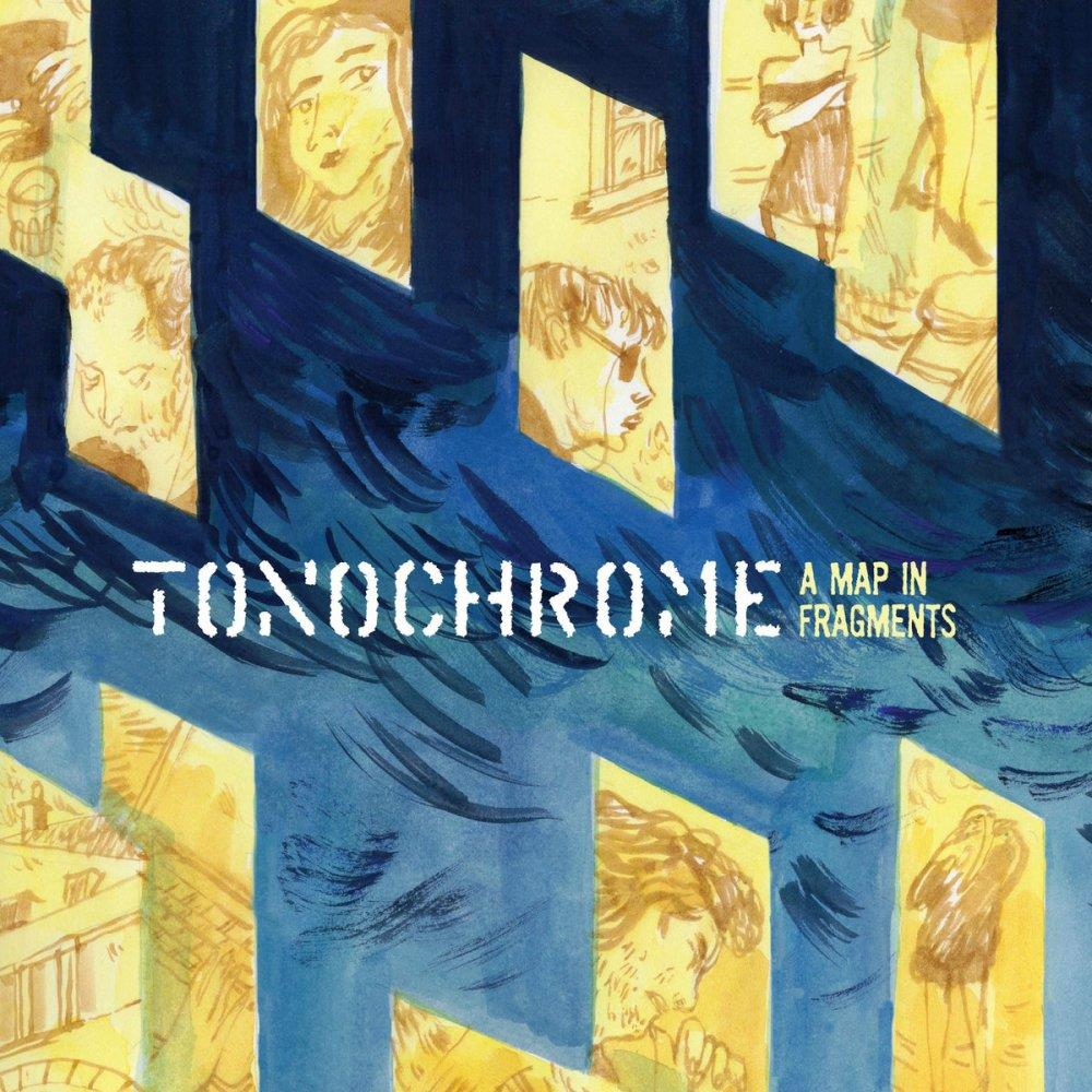 Tonochrome A Map In Fragments album cover