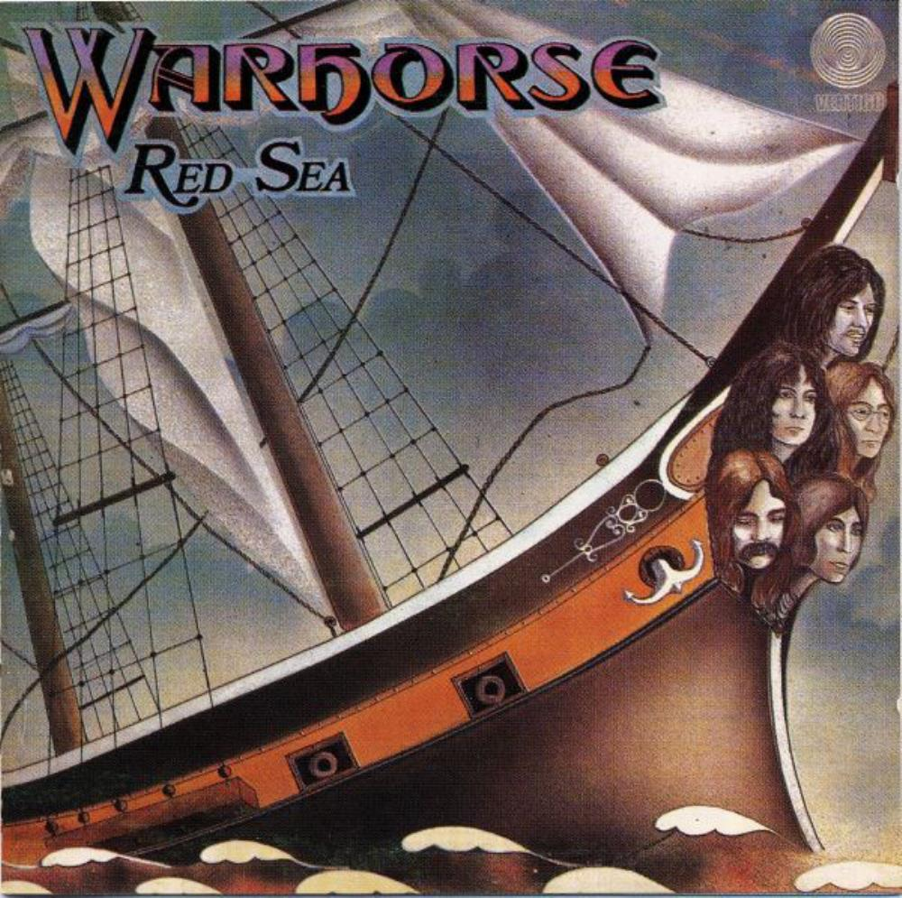 Warhorse Red Sea album cover