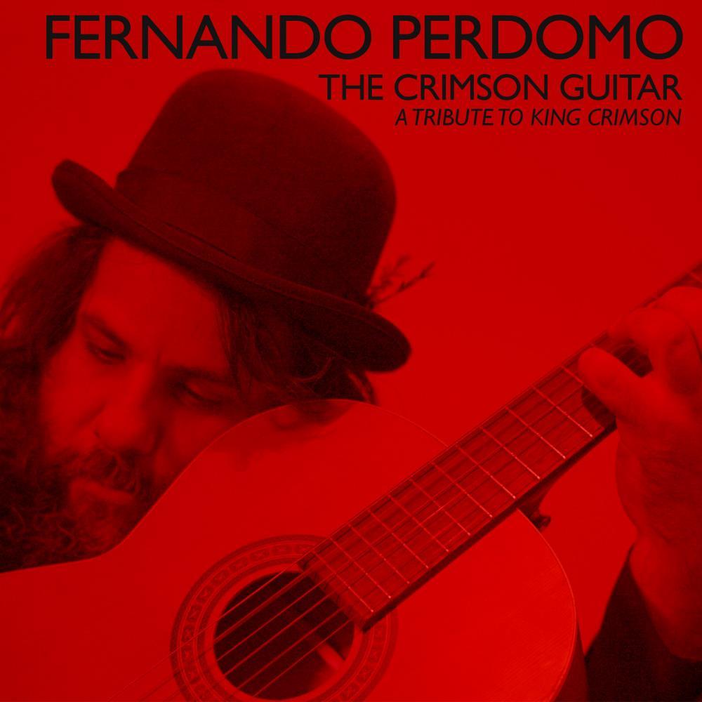 The Crimson Guitar by PERDOMO, FERNANDO album cover