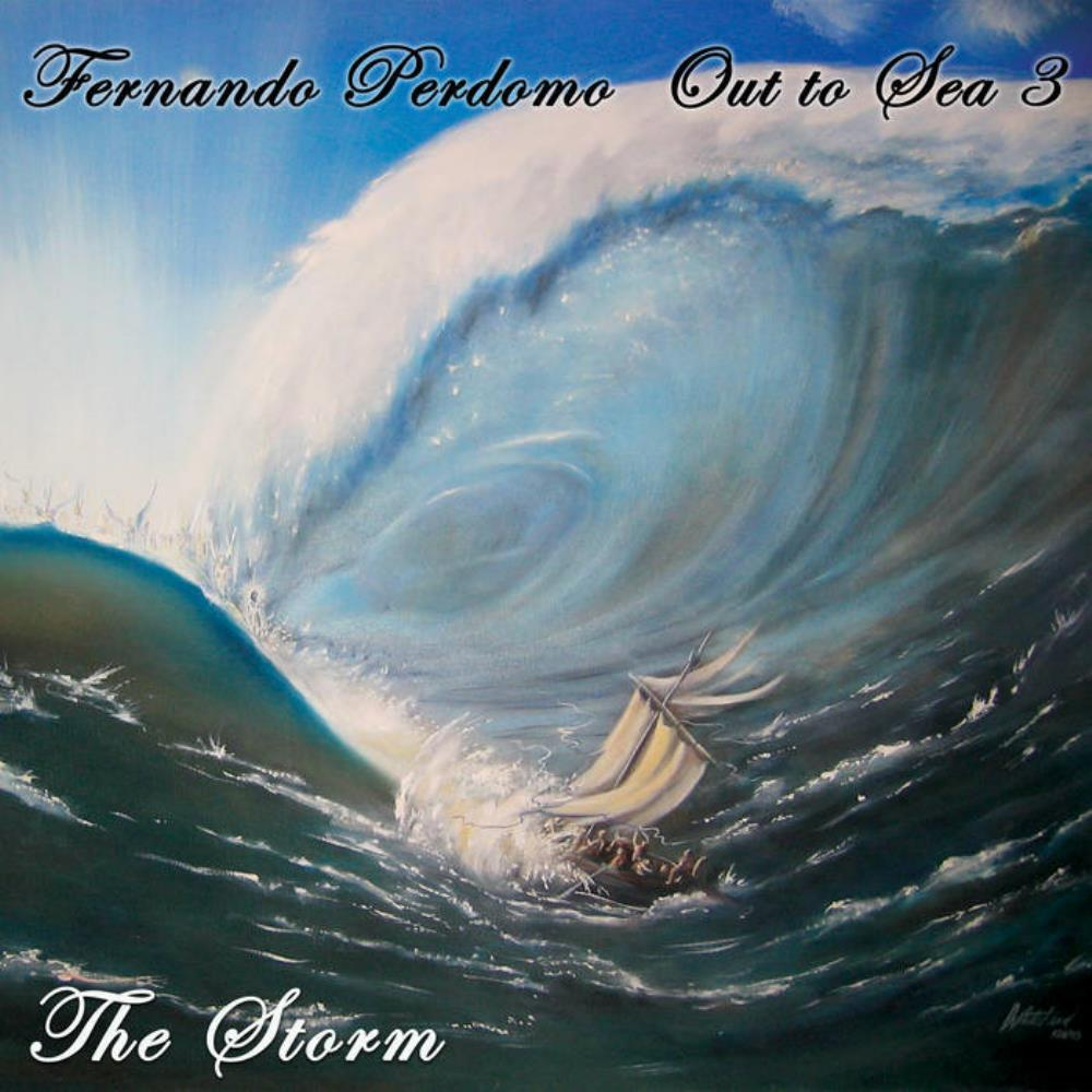 Out to Sea 3 - The Storm by PERDOMO, FERNANDO album cover
