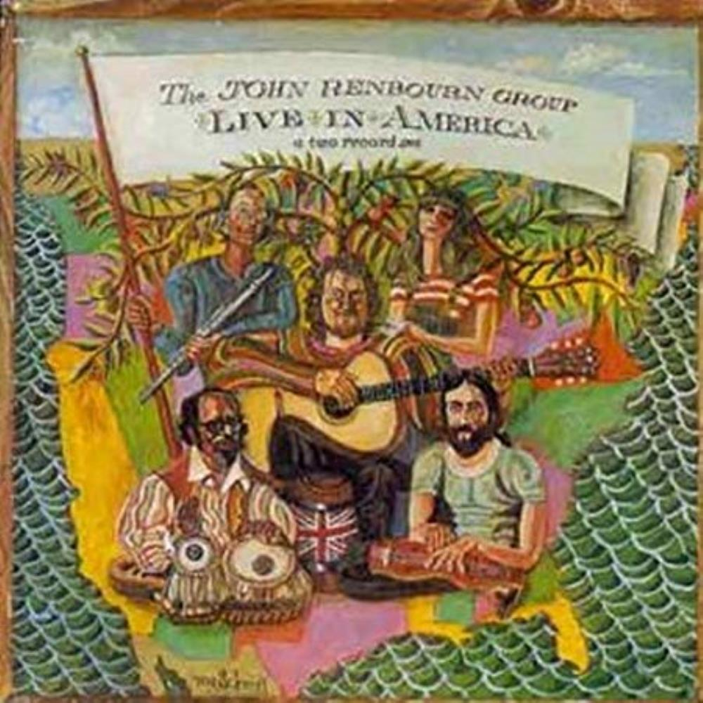 The John Renbourn Group: Live In America by RENBOURN, JOHN album cover