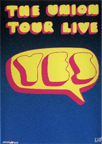 Yes The Union Tour Live album cover