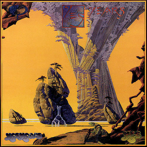 Yes - Yesyears CD (album) cover