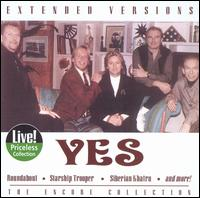 Yes - Extended Versions CD (album) cover