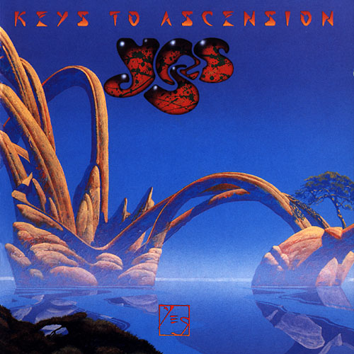 Yes - Keys to Ascension  CD (album) cover