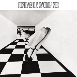 Yes Time and a Word album cover