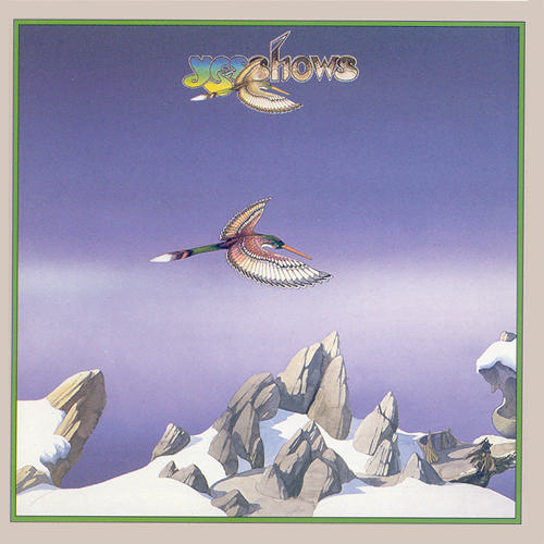 Yes - Yesshows CD (album) cover