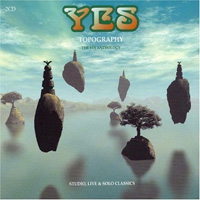 Yes - Topography: The Yes Anthology CD (album) cover