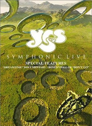 Yes - Symphonic Live (DVD) CD (album) cover