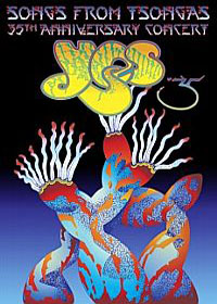 Yes - Songs From Tsongas: 35th Anniversary Concert (DVD) CD (album) cover