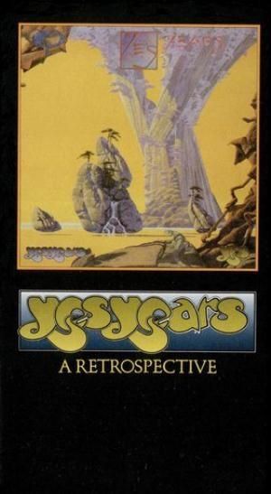Yes - Yesyears (DVD) CD (album) cover