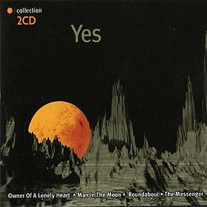 Yes Collection 2CD: Yes album cover
