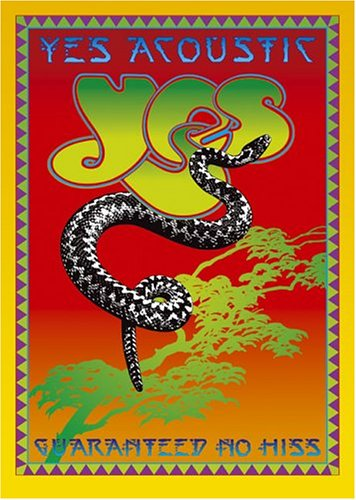 Yes Acoustic: Guaranteed No Hiss by YES album cover