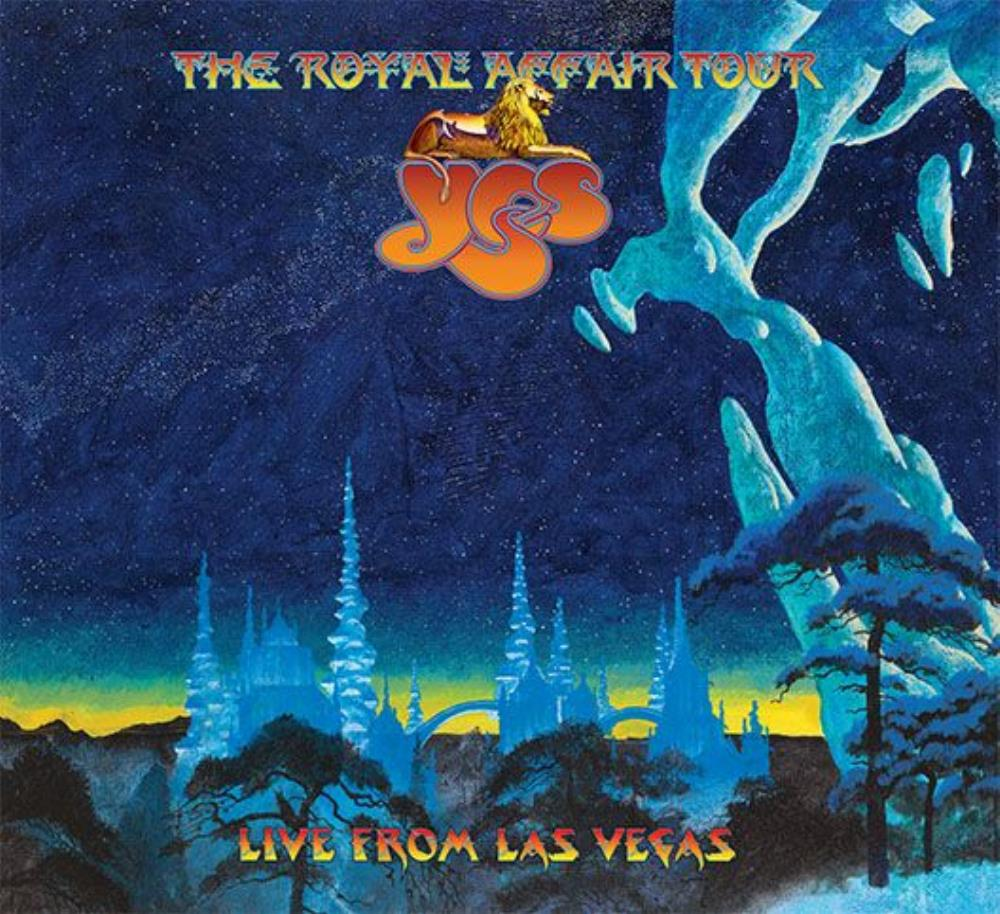 Yes - The Royal Affair Tour: Live in Las Vegas CD (album) cover
